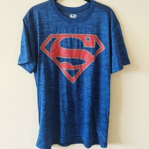 Superman Men's Blue t shirt